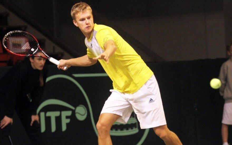 L. Mugevičiaus ir olando duetas pergale pradėjo teniso turnyrą Turkijoje
