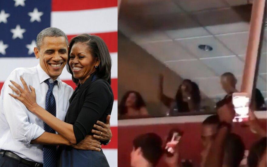 Barack ir Michelle Obamos