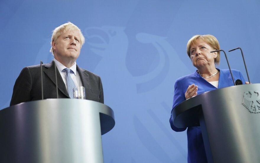Borisas Johnsonas, Angela Merkel