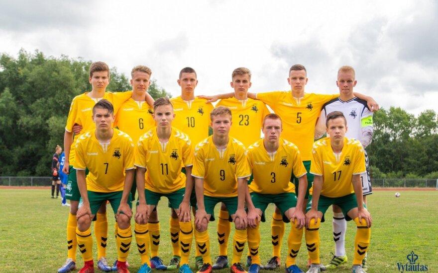 Lietuvos U17 futbolo rinktinė
