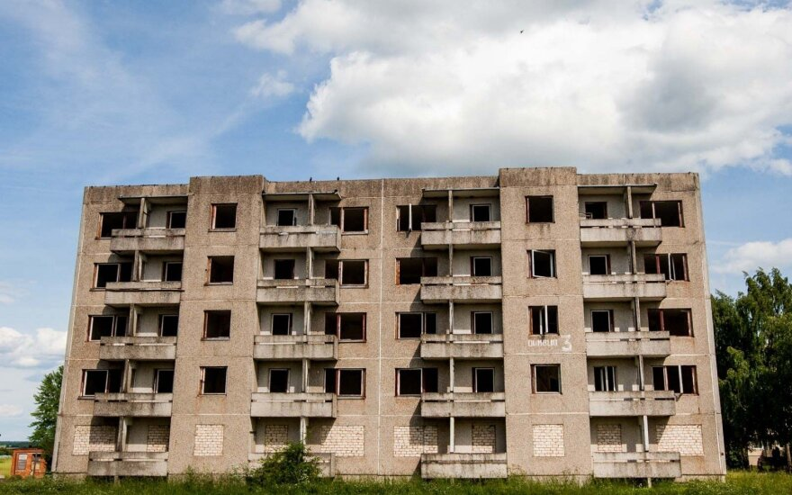 Depopulated towns consider demolishing Soviet-era apartment buildings