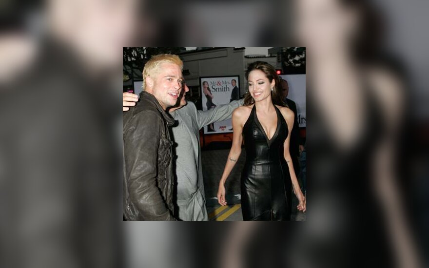 B.Pittas ir A.Jolie