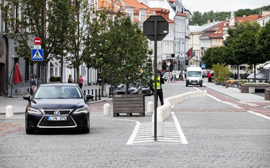 Ketvirtadienio vakarą didžioji dalis Vilniaus senamiesčio buvo likusi be elektros