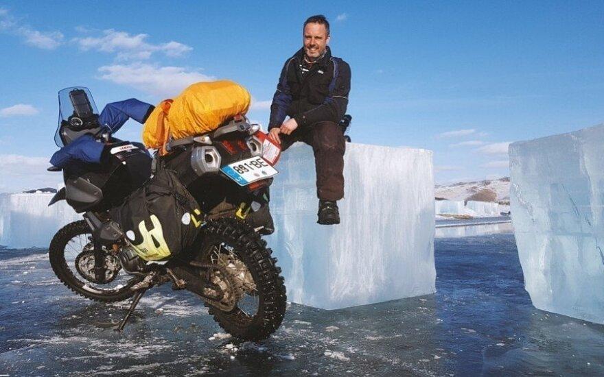 Lietuvis motociklu važiuos į šalčiausią apgyvendintą vietą žemėje