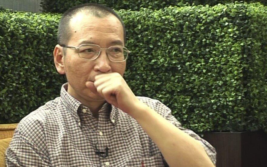 Kinijos Nobelio taikos premijos laureato Liu Xiaobo būklė kritinė
