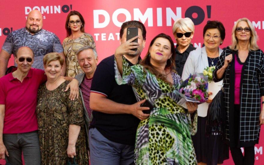 """""""Domino"""" teatro renginyje - žinomi veidai"""