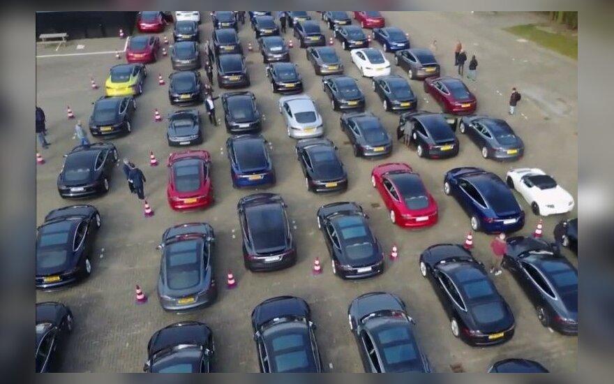 Elektromobilių rekordas