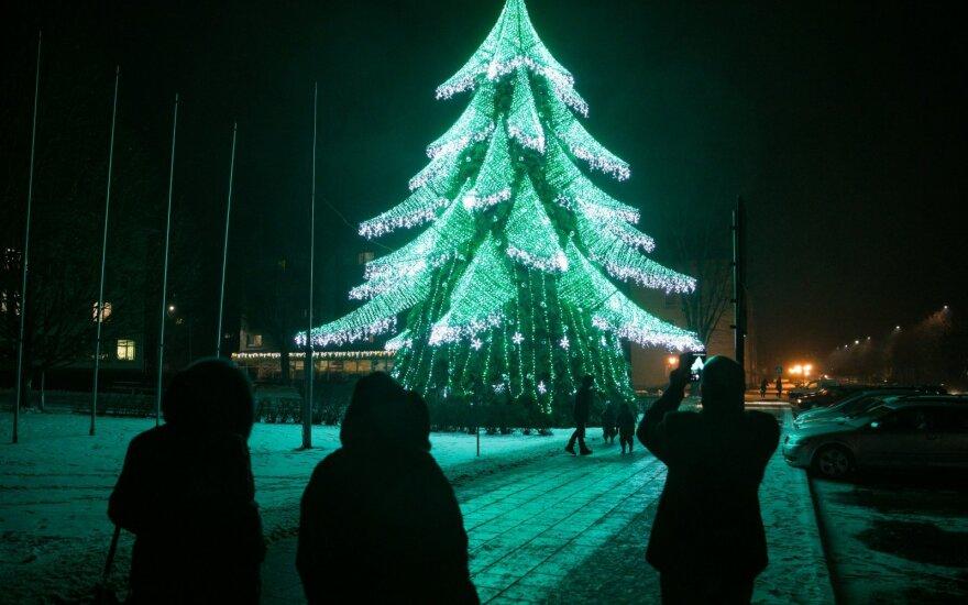 Pernai visą Lietuvą savo Kalėdų egle sužavėjusios Širvintos jau šį penktadienį žada nepakartojamą staigmeną