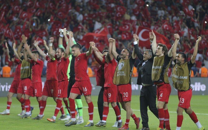 Turkijos rinktinės futbolininkai