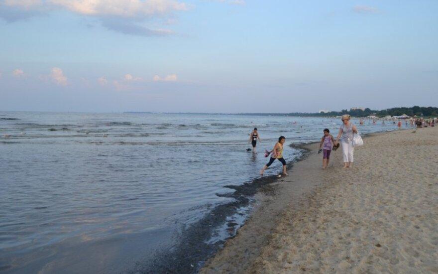 Baltijos  jūra Lenkijos pakrantė