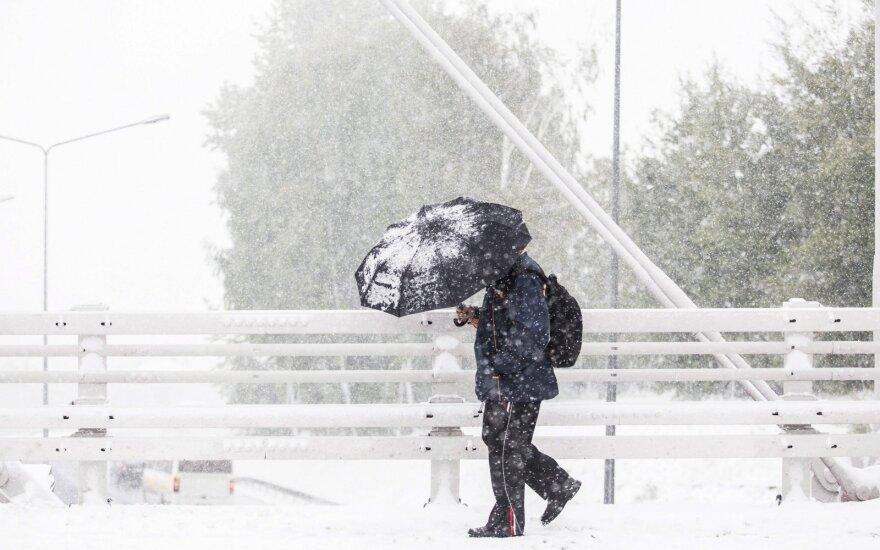 Prognozuoja likusios žiemos orus: nusiteikite netikėtumams