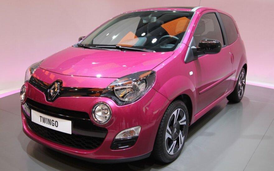 """Dėl nuosmukio Europos rinkoje """"Renault"""" pelnas sumažėjo"""