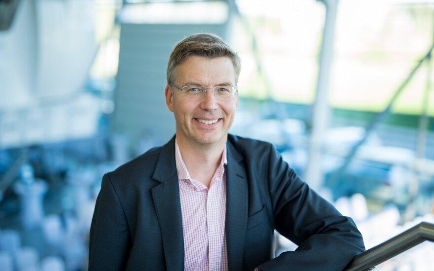 Andersas Larssonas, SEB Baltijos šalių verslo bankininkystės vadovas