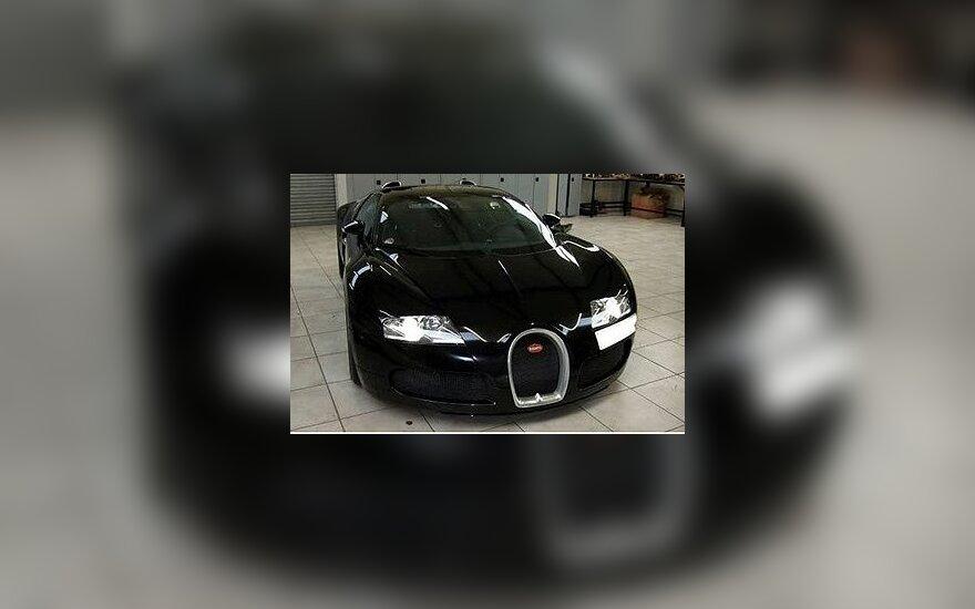 "Bugatti Veyron. ""Autocar"" nuotr."