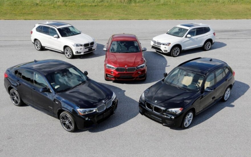 BMW X modeliai