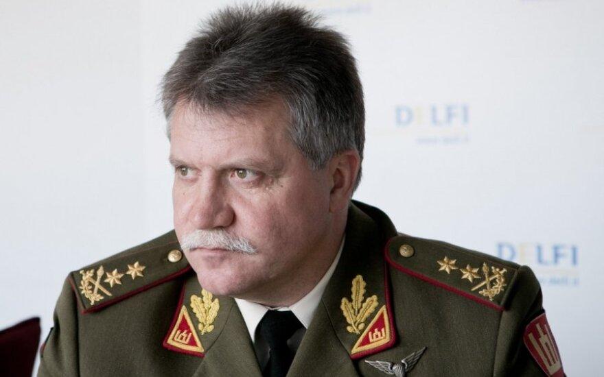 Chief of Defence of Lithuania Major General Jonas Vytautas Žukas