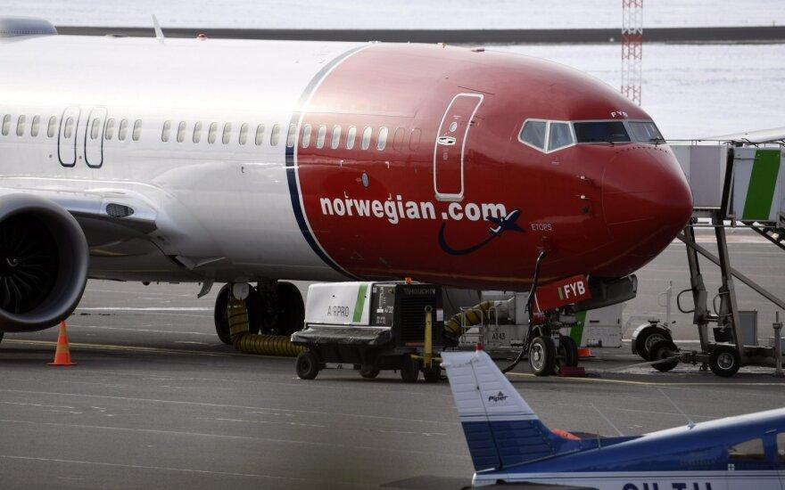 """""""Norwegian Air Shuttle"""" iš Vilniaus skraidins į Bergeną"""