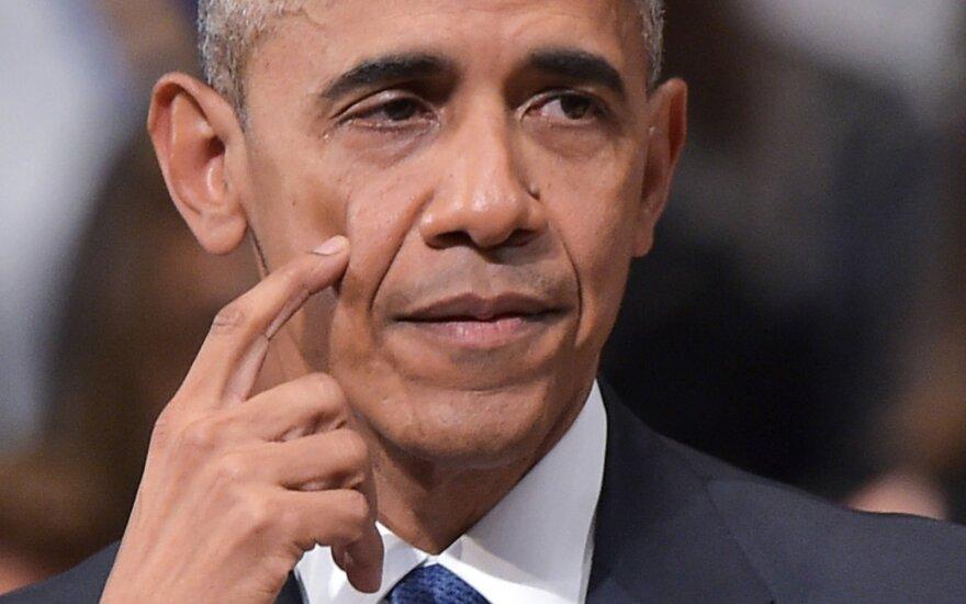 Prieš G20 susitikimą Kinijoje pažemintas B. Obama