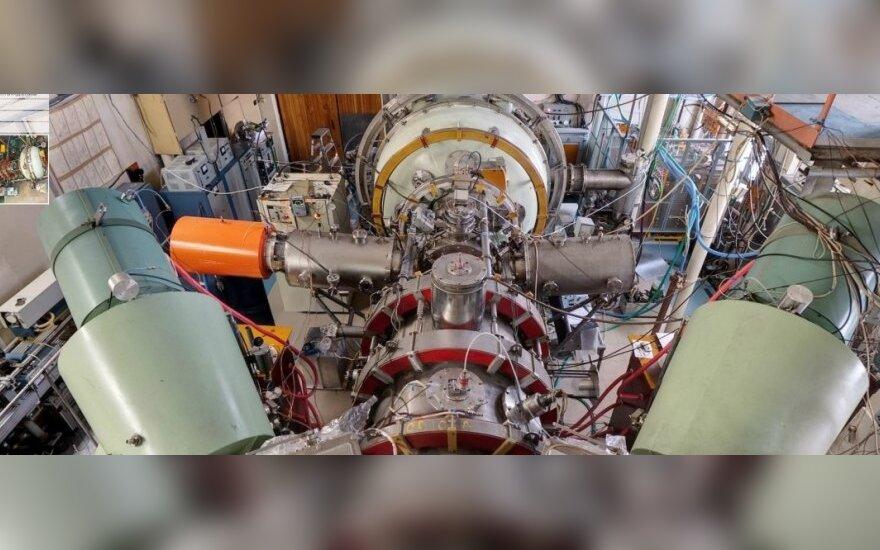 Kvazi-stacionari magnetinė gaudyklė (Budkerio atominės fizikos instituto nuotr.)