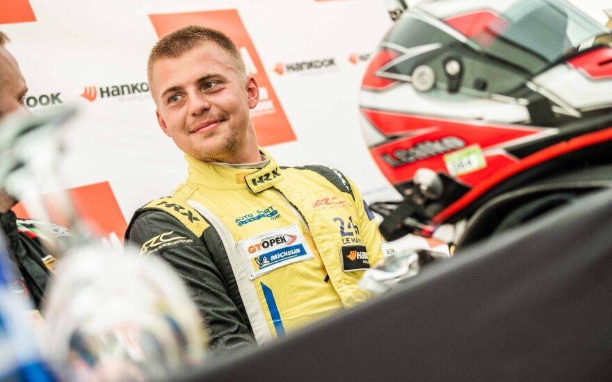 """""""Aurum 1006 km lenktynių"""" Palangoje kvalifikacija. Arno Strumilos nuotr."""