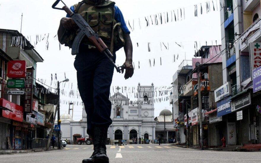 Kariai saugo Švč. Antano bažnyčią po išpuolio Šri Lankoje
