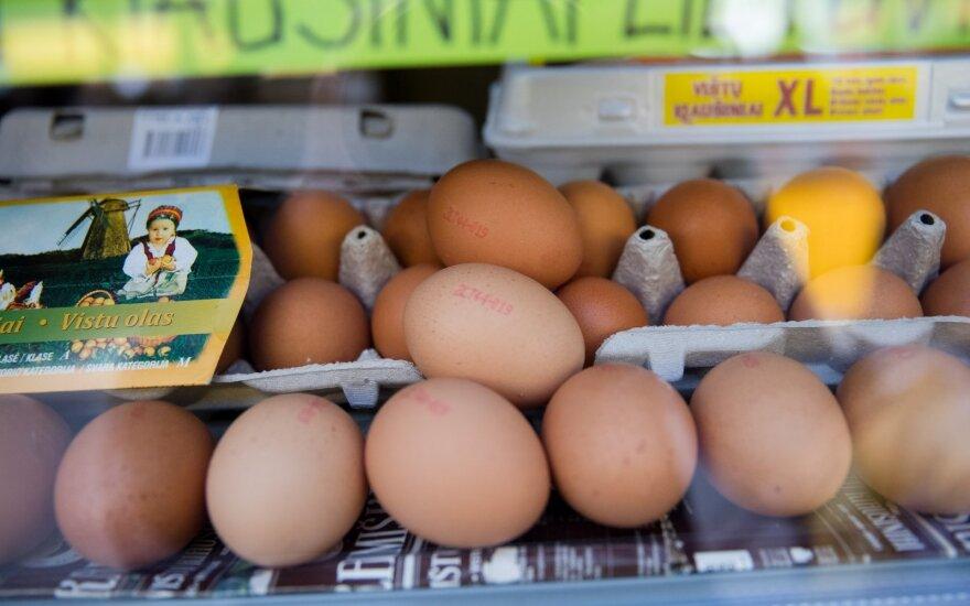 Einate pirkti kiaušinių – be šios lentelės galite suklysti