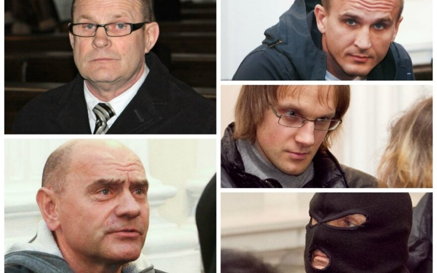 Tris banditus iš Žemaitijos teismas įkalino iki gyvos galvos