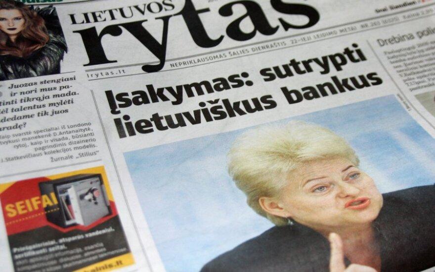 """Premjero patarėjas: """"Lietuvos ryto"""" publikacija pagreitino įvykius"""