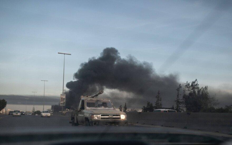 JAV kariuomenė: Libijoje aktyviai naudojami rusiški naikintuvai