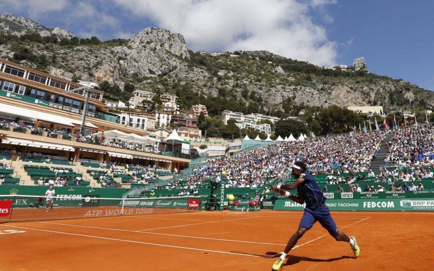 Monake – R. Gasqueto, M. Raoničiaus ir G. Monfilso pergalės