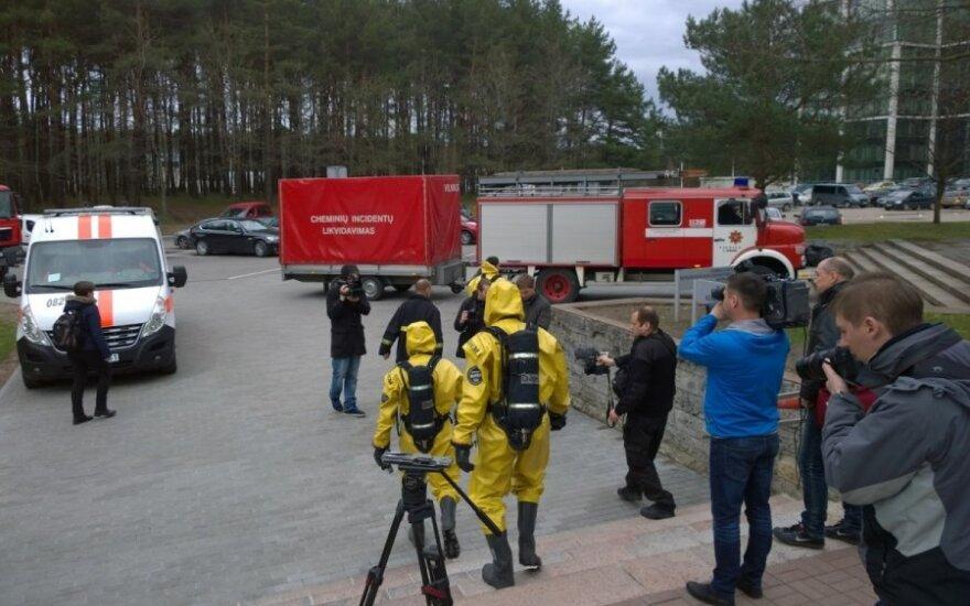 Iš VGTU evakuoti studentai ir darbuotojai