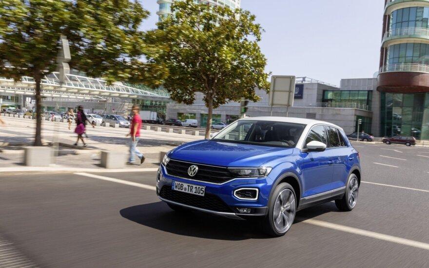 """""""Volkswagen T-Roc"""" (asociatyvi nuotr.)"""