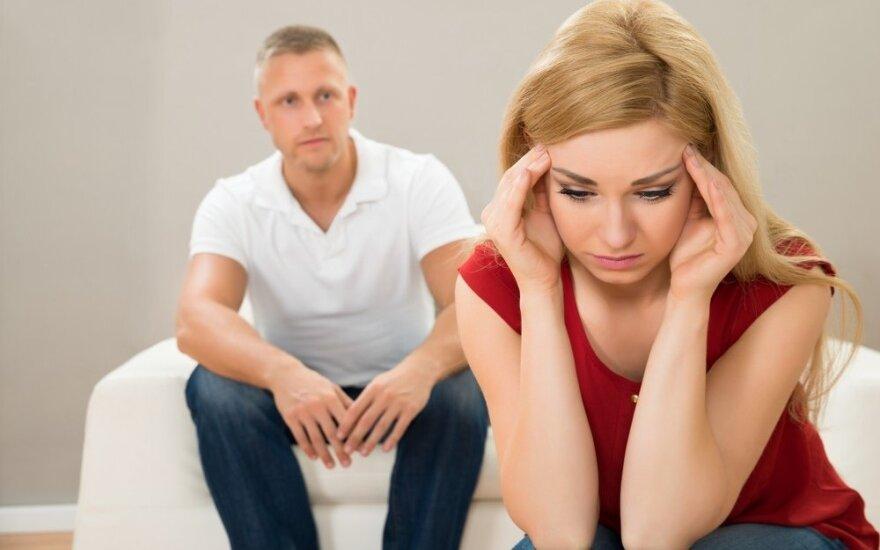Stresas - akivaizdus santykių žudikas ir kodėl vyrai ir moterys jį išgyvena skirtingai