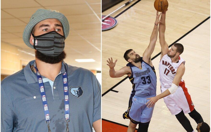 """Neeilinis sekmadienis: Valančiūnas pirmą kartą pažiūrės į akis NBA aukso žiedo jam pagailėjusiems """"Raptors"""""""
