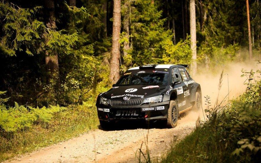 """""""Samsonas Rally Rokiškis 2018"""": testinis greičio ruožas"""