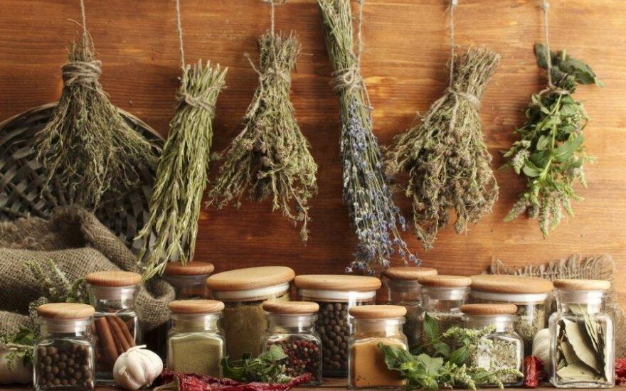 Patarimai, kaip išsaugoti džiovintų žolelių aromatą