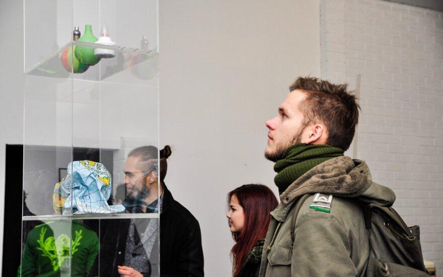 Šiuolaikinio meno aistruolius Kaune pasveikino D. Liškevičiaus paroda