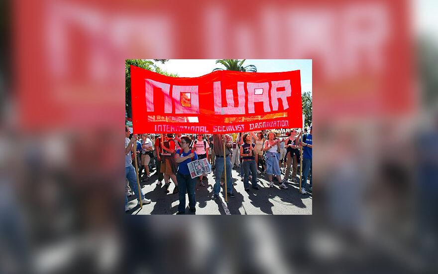 Protestai prieš karą Irake