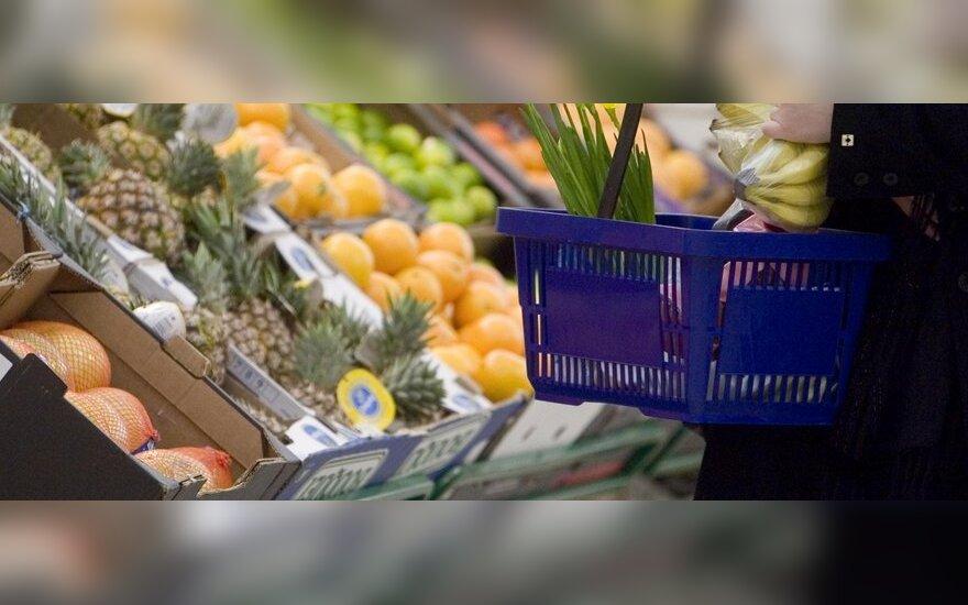 Pigiausias maistas Šiauliuose, o brangiausi degalai – Klaipėdoje