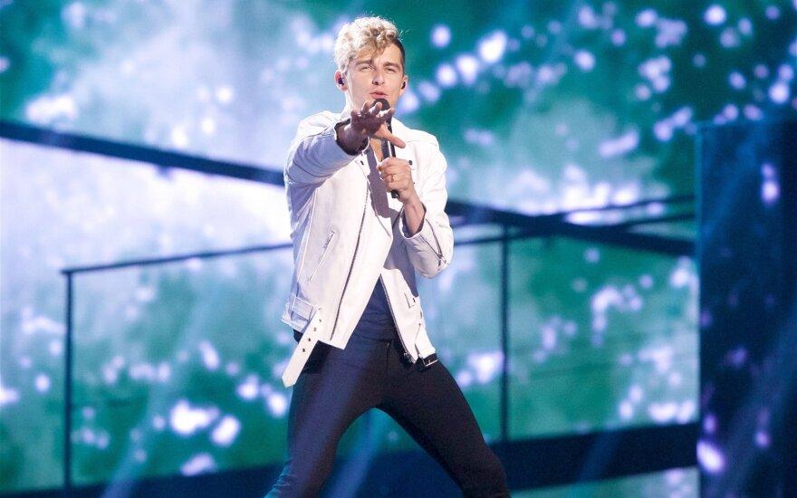 """Įvertink! Finalinis D. Montvydo pasirodymas """"Eurovizijoje"""""""