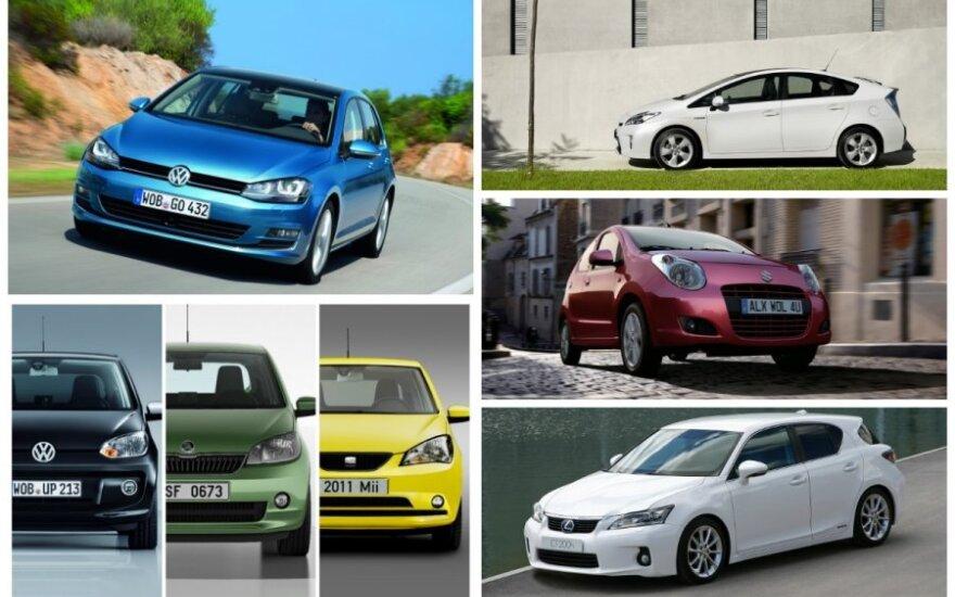 Ekologiškiausi automobiliai