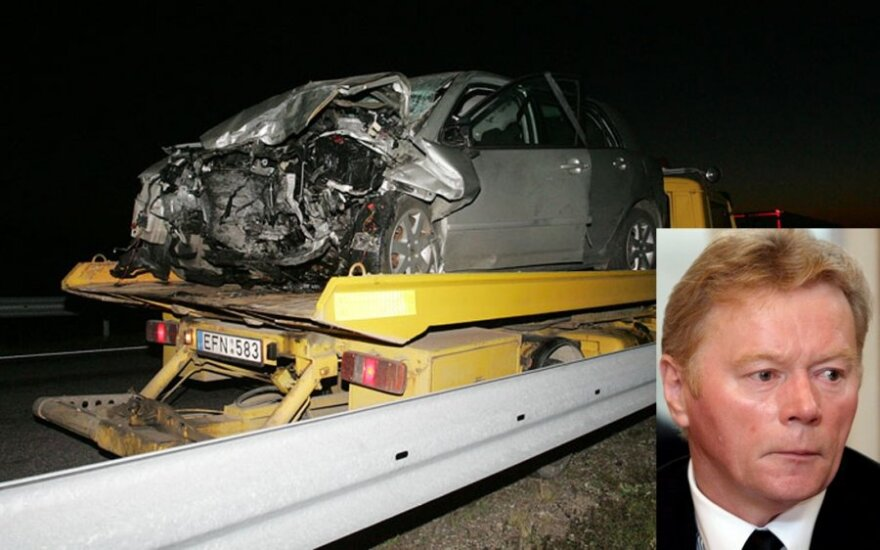 Avarijoje žuvo Seimo narys J.Palionis