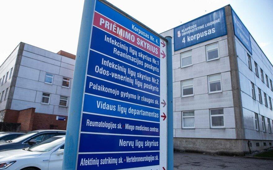 Situacija Klaipėdoje gerėja, tačiau pastebi keistų tendencijų: po dviejų neigiamų testų liga vyrui smogė agresyvia forma