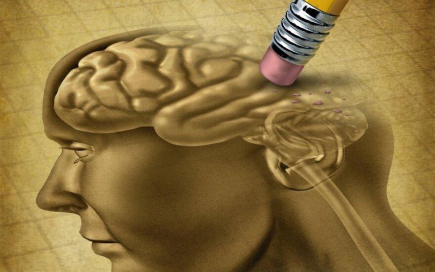 Atmintis gerėja naudojama