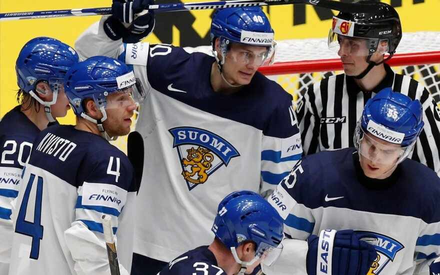 Suomijos ledo ritulininkai