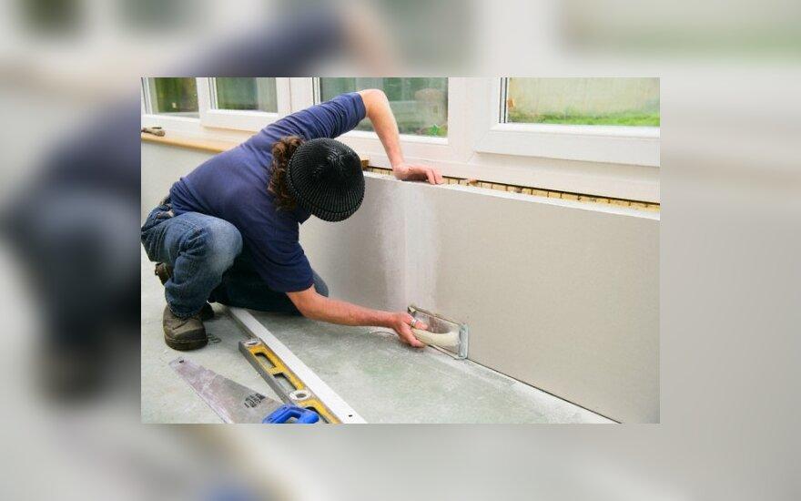 Statybų sektorius planuoja atleidimus