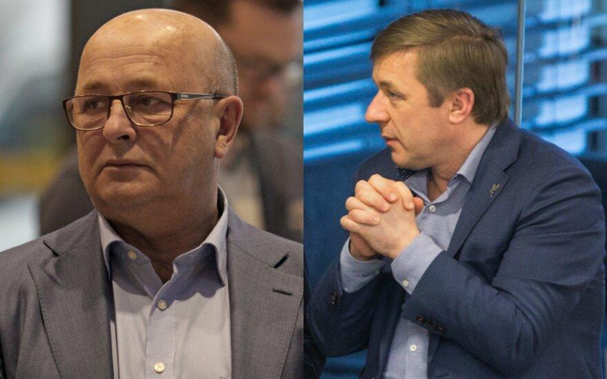 Visvaldas Matijošaitis ir Ramūnas Karbauskis