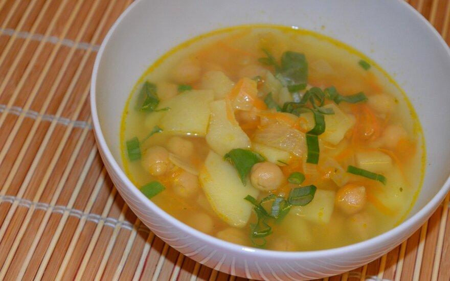 Avinžirnių sriuba