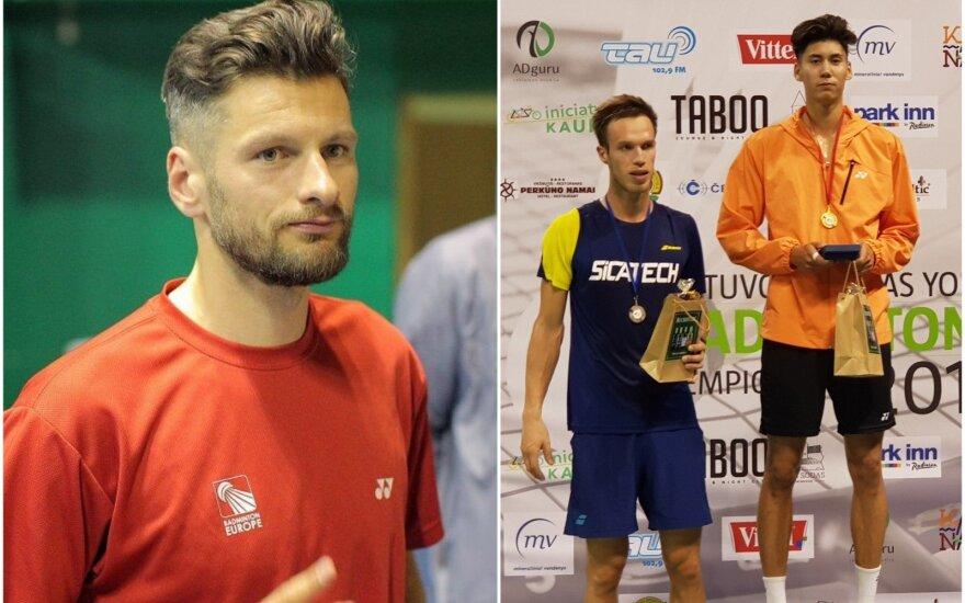 Kęstutis Navickas (kairėje), Felixas Burestedtas (dešinėje)