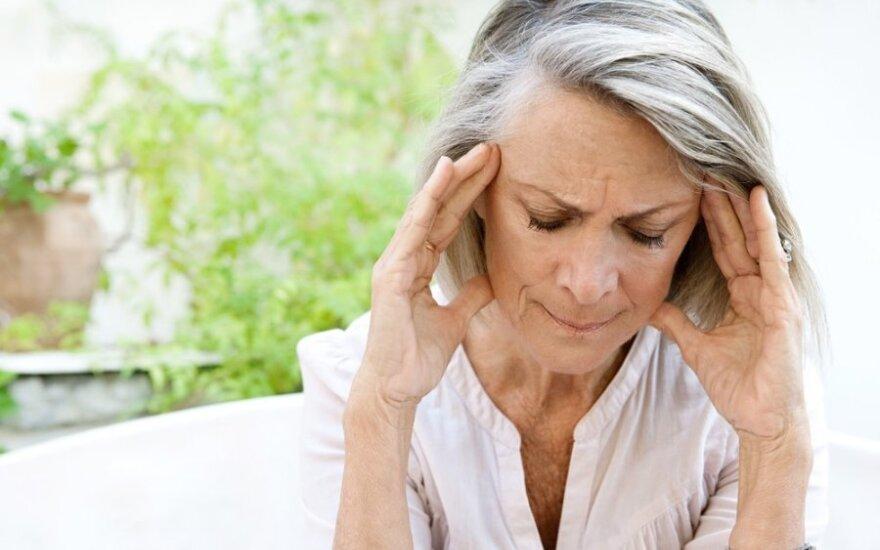 Spengimas galvoje grasina nemalonia liga